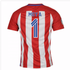 2016-17 Atletico Madrid Home Shirt (Moya 1) - Kids