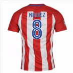 2016-17 Atletico Madrid Home Shirt (Niguez 8) - Kids