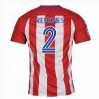 2016-17 Atletico Madrid Home Shirt (Renones 2) - Kids