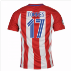 2016-17 Atletico Madrid Home Shirt (Torres 17) - Kids