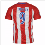 2016-17 Atletico Madrid Home Shirt (Torres 9) - Kids