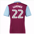 2016-17 Aston Villa Home Shirt (Gardner 22) - Kids