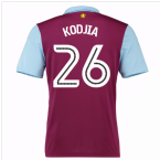 2016-17 Aston Villa Home Shirt (Kodjia 26) - Kids