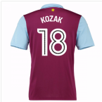 2016-17 Aston Villa Home Shirt (Kozak 18) - Kids