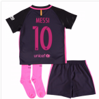 2016-17 Barcelona Away Mini Kit (Messi 10)