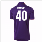 2016-17 Fiorentina Home Shirt (Tomovic 40)
