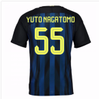2016-17 Inter Milan Home Shirt (Yuto Nagatomo 55) - Kids