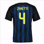 2016-17 Inter Milan Home Shirt (Zanetti 4) - Kids