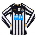 2014-15 Newcastle Puma Authentic ACTV Home Long Sleeve Football Shirt