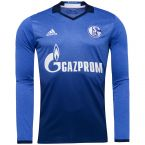 Schalke 2016-2017 Long Sleeve Home Shirt