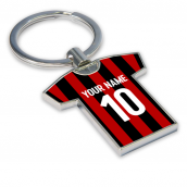 Personalised AC Milan Key Ring