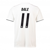 2018-19 Real Madrid Home Football Shirt (Bale 11) - Kids