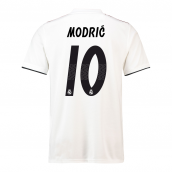 c42a90180 2018-19 Real Madrid Home Football Shirt (Modric 10) - Kids