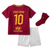 2019-2020 AS Roma Home Nike Infants Kit (Your Name)