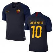 2019-2020 AS Roma Nike Training Shirt (Obsidian) (Your Name)
