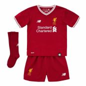 Liverpool 2017-2018 Home Little Boys Mini Kit