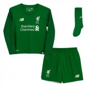 Liverpool 2017-2018 Home Goalkeeper Mini Kit