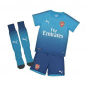 Arsenal 2017-2018 Away Mini Kit