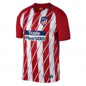 Atletico Madrid 2017-2018 Home Shirt (Kids)