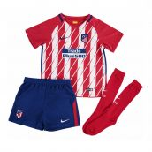 Atletico Madrid 2017-2018 Home Mini Kit