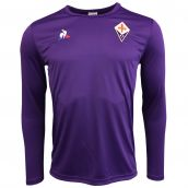 Fiorentina 2017-2018 LS Training Tee (Purple)