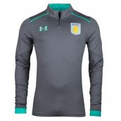 Aston Villa 2017-2018 Half Zip Training Top (Graphite)