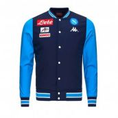 Napoli 2017-2018 Cotton Jacket (Blue Marine)