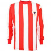 Athletic Bilbao 1960s Retro Football Shirt