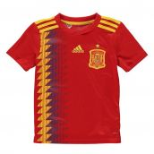 Spain 2018-2019 Home Shirt (Kids)