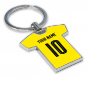 Personalised Borussia Dortmund Key Ring