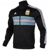 Argentina 2018-2019 3 Stripes Track Jacket (Black)