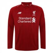 Liverpool 2018-2019 Home Long Sleeve Shirt