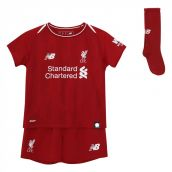 Liverpool 2018-2019 Home Little Boys Mini Kit