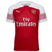 Arsenal 2018-2019 Home Football Shirt (Kids)