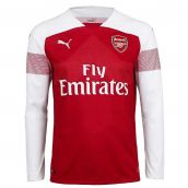 Arsenal 2018-2019 Home Long Sleeve Shirt