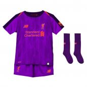 Liverpool 2018-2019 Away Little Boys Mini Kit