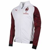 AC Milan 2018-2019 Stadium Training Jacket (White)