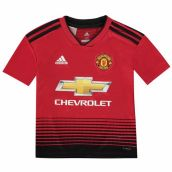 Man Utd 2018-2019 Home Shirt (Kids)