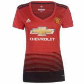 Man Utd 2018-2019 Ladies Home Shirt