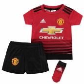 Man Utd 2018-2019 Home Baby Kit