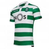 Sporting Lisbon 2018-2019 Authentic Home Shirt