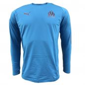 Olympique Marseille 2018-2019 Training Sweat Top (Blue)