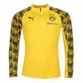 Borussia Dortmund 2018-2019 Quarter Zip Training Top (Yellow)