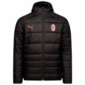 AC Milan 2018-2019 Fan Padded Jacket (Black)