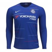Chelsea 2018-2019 Home Long Sleeve Shirt
