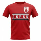 Japan Core Football Country T-Shirt (Red)