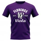 Fiorentina Established Football T-Shirt (Purple)