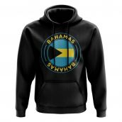 Bahamas Football Badge Hoodie (Black)