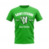 Saint Etienne Established Football T-Shirt (Green)