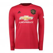 Man Utd 2019-2020 Home Long Sleeve Shirt
